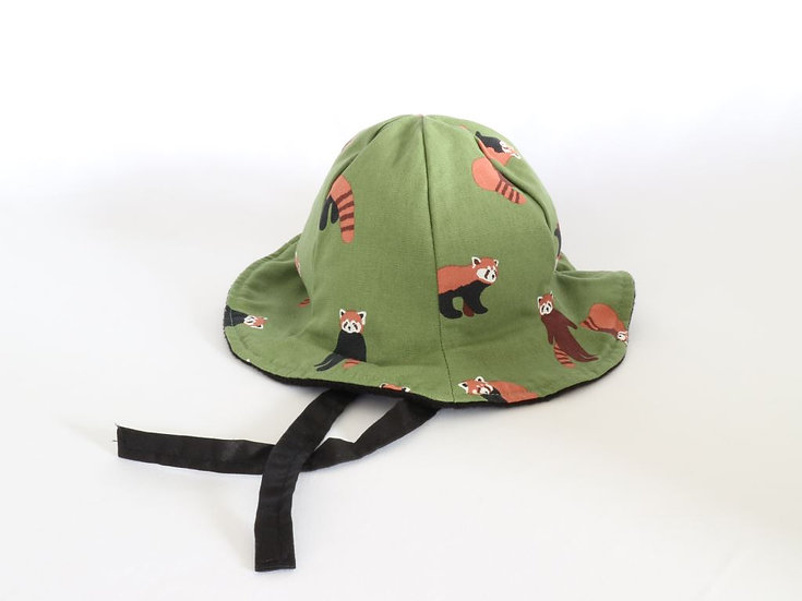Raccoon Winter Bucket Hat