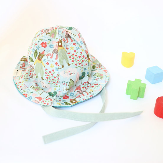 Forest Mint Bucket Hat