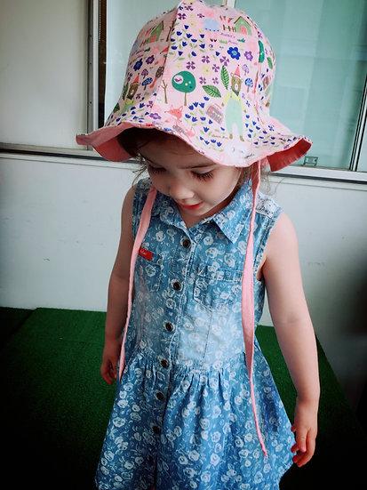 Forest Pink Bucket Hat