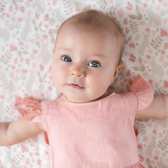 Pink Rabbit Blanket