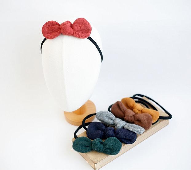 Knit Ribbon Baby Head Band