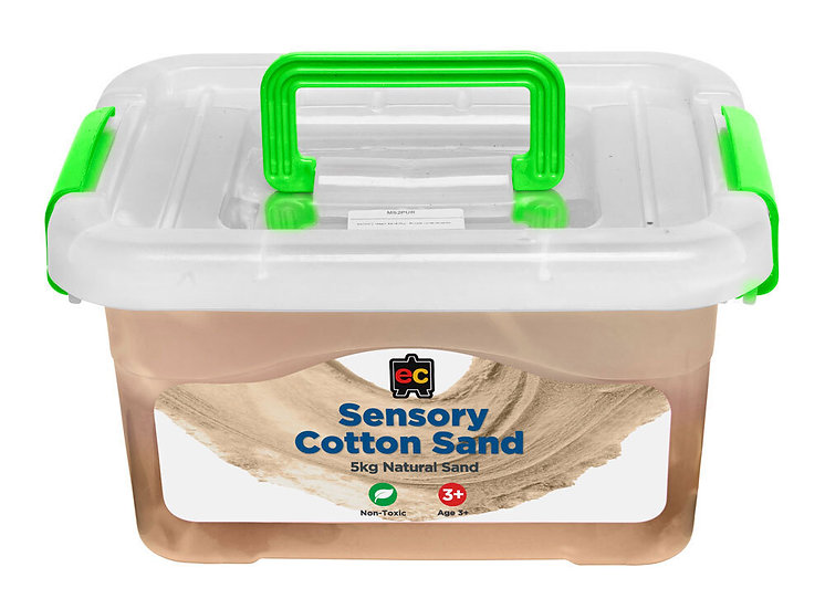 Sensory Cotton Sand 5kg Natural