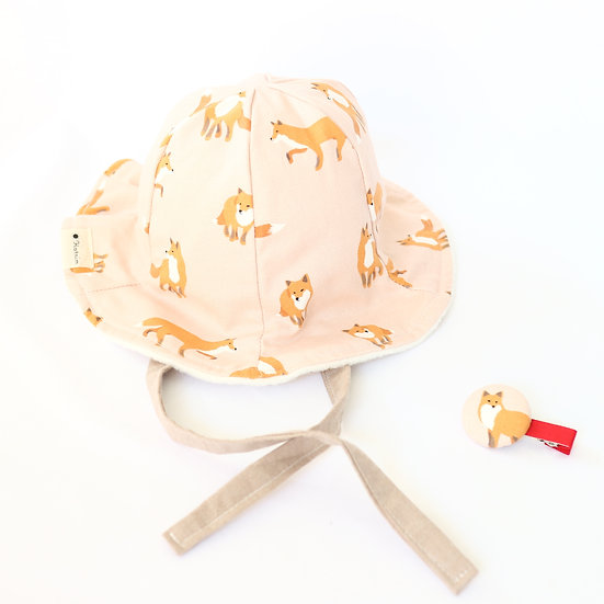 Fox Winter Bucket Hat