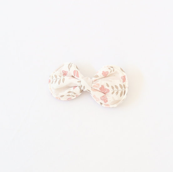 Pink Rabbit Hair Clip