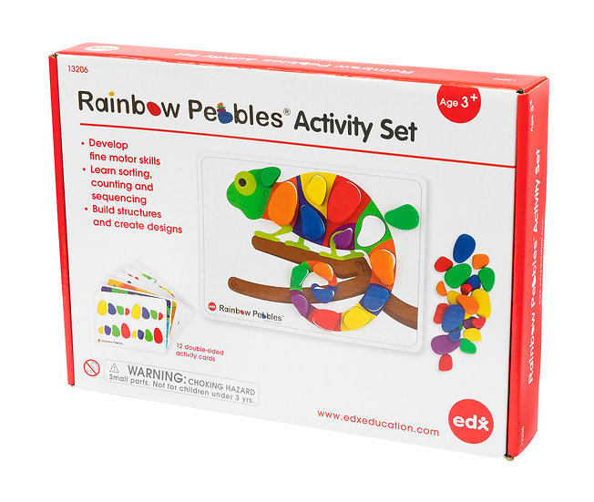 Rainbow Pebbles Activity Set