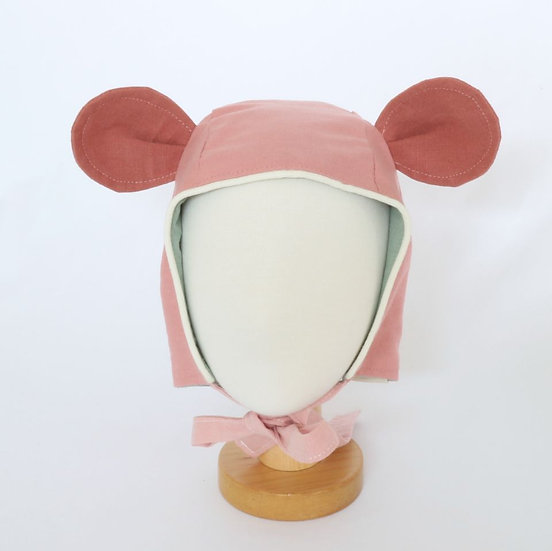 Mouse Pink Bonnet