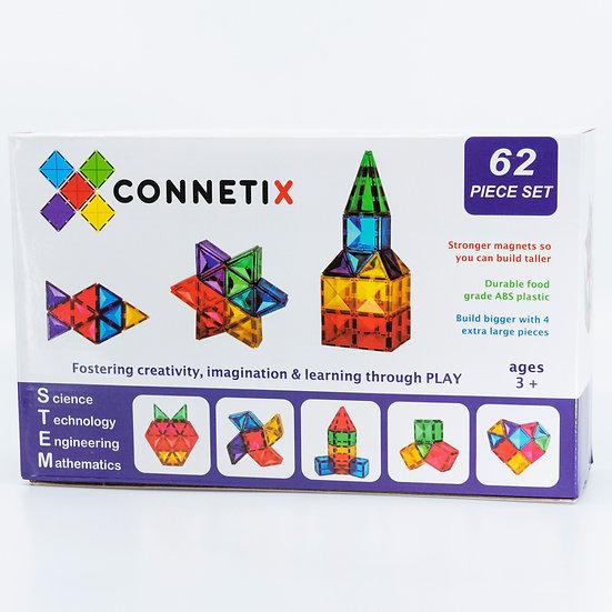 [Pre-order] Connetix Tiles 62 Piece Set