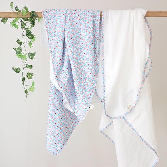 Peony Blanket + Wrap
