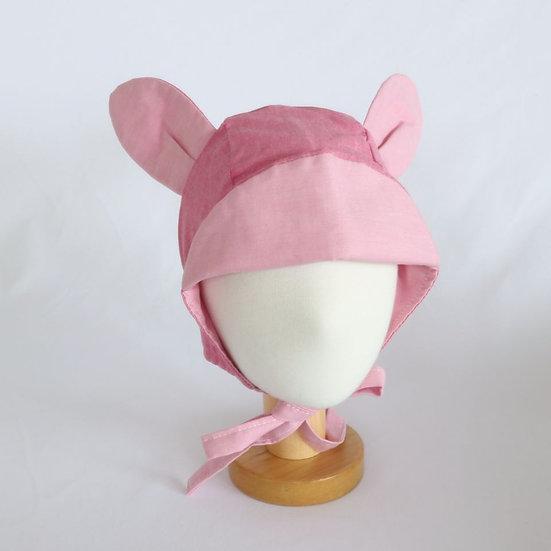 Bambi Pink Bonnet