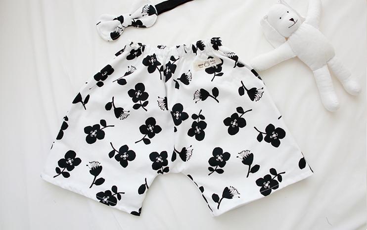 Modern Flower Shorts