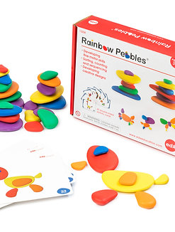 Rainbow Pebbles Set in a Box