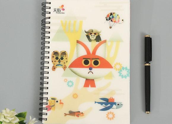 Reusable A5 Spiral Notebook