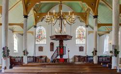 Interieur Lutherse Kerk Woerden
