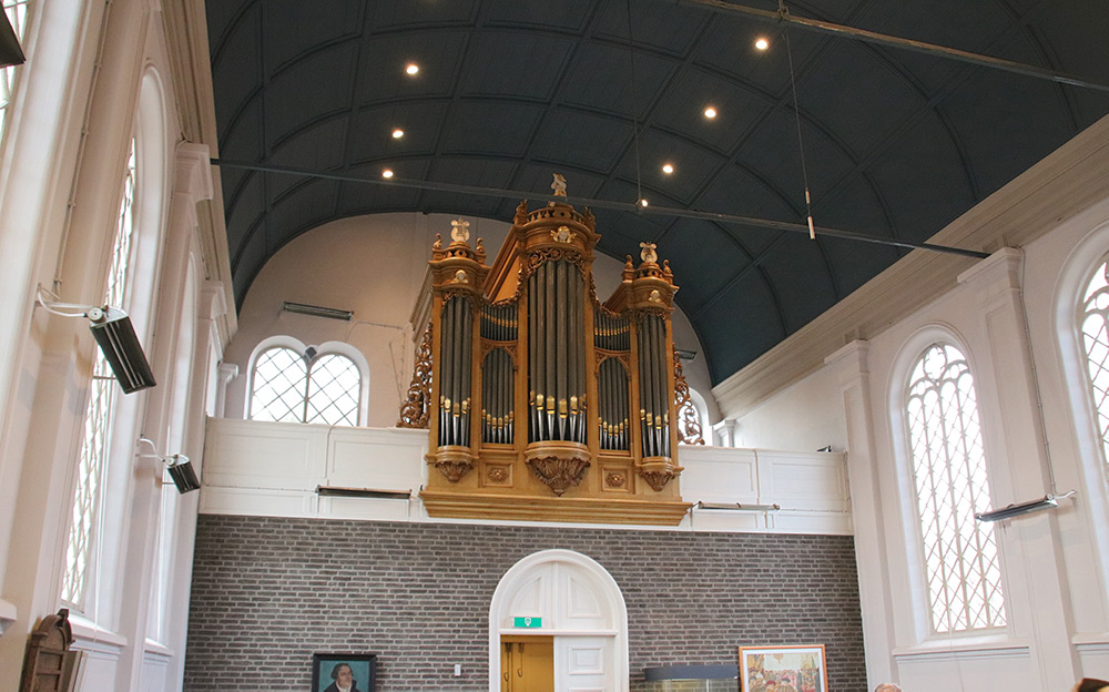 Interieur Orgel