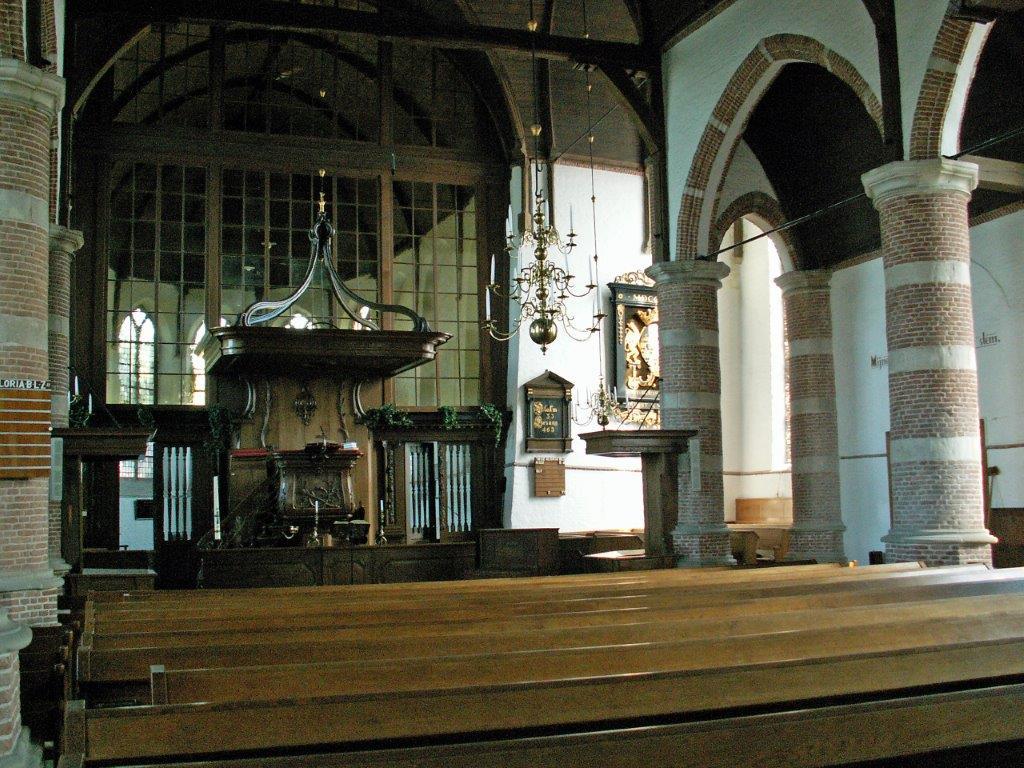 Brugkerk interieur