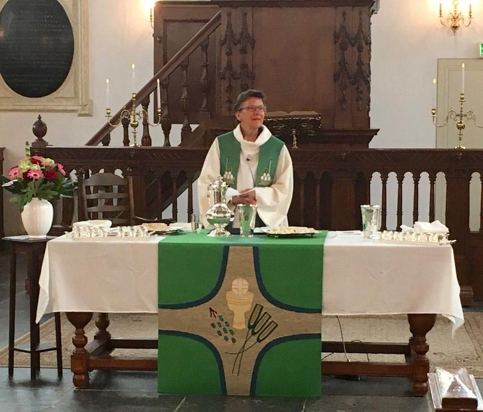Oudshoornse Kerk Alphen Pastor