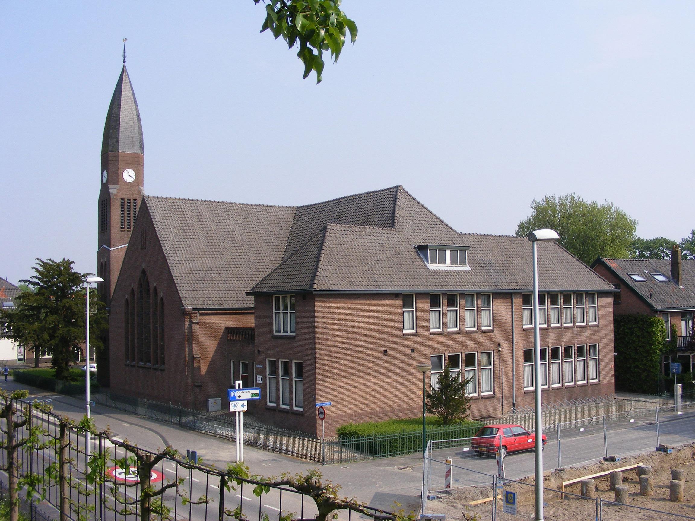 Opstandingskerk westzijde