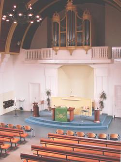 Opstandingskerk - liturgisch centrum