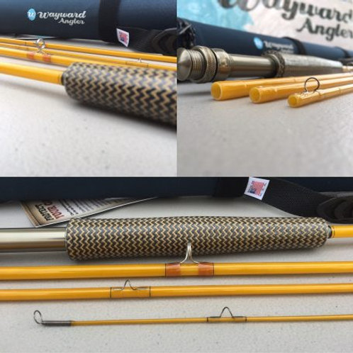 """This is """"Amber"""", an Epic 480 FastGlass Fly Rod 
