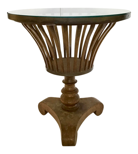 Classical Urn Shape Cocktail Table