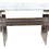 Thumbnail: Lucite Radiator Console With Marble Top