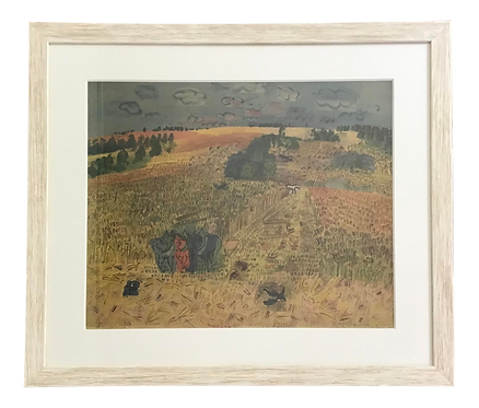 Normandy Countryside Scene by Raoul Dufy