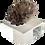 Thumbnail: Large Amethyst Rock Crystal Specimen on Lucite Base