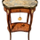Thumbnail: Classic French Transition Marble Top Side Table