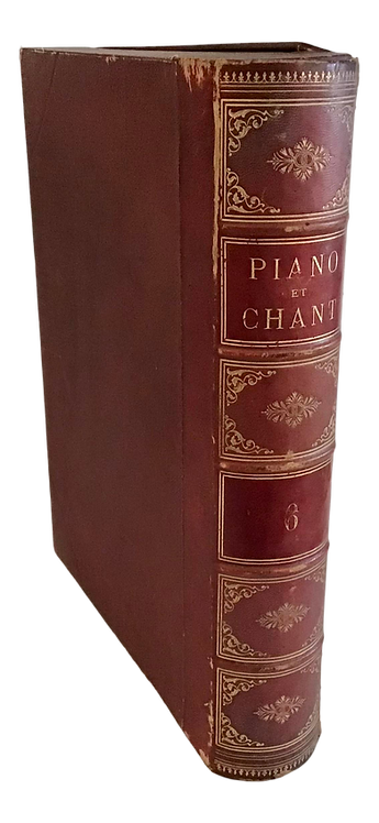 French Book Shape Box Case