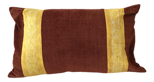 1960s Fortuny Rectangular Pillow