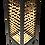 Thumbnail: Asian Bamboo and Painted Wood Pedestal