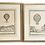 Thumbnail: French 18th C Lithographs of Balloon Air Scenes - a Pair
