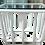 Thumbnail: Boho Chic White Rattan Rectangular Side Table