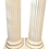 Thumbnail: 1950s Vintage French Tall Classical Pedestals - a Pair