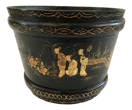 Chinoiserie French Cachepot