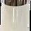 Thumbnail: Modern White and Silver Vase