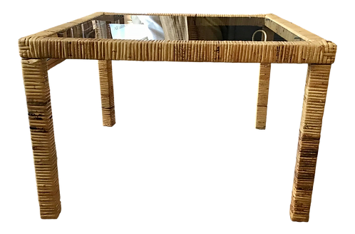 Bielecky Brothers Rattan Square Coffee Table