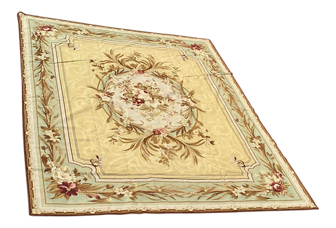 Henri Samuel Style French Aubusson Needlepoint Carpet