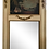 Thumbnail: Classic French Boiserie Mirror With Carved Frame and Oil Painting