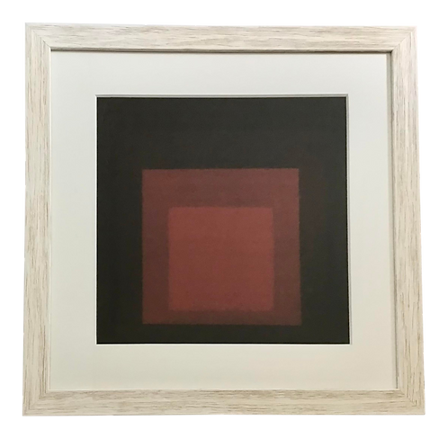 Josef Albers Red Color Lithograph