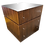 Thumbnail: Todd Hase Large Pedestal With Writing Desk and File Drawers in Macassar Ebony