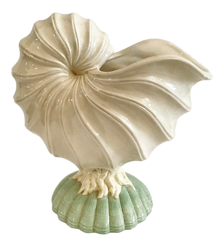 Vintage Grotto Shell Cachepot