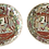 Thumbnail: 1950s Rose Medallion Bowls - a Pair