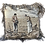 Thumbnail: French Square Decor Tapestry Pillow With a Couple Scene