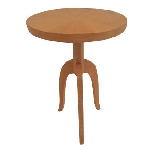 Todd Hase Sycamore Marquetry Gueridon Table