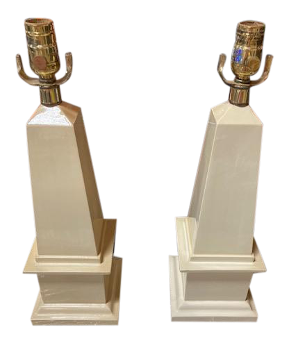 Todd Hase Concord Table Lamps - a Pair