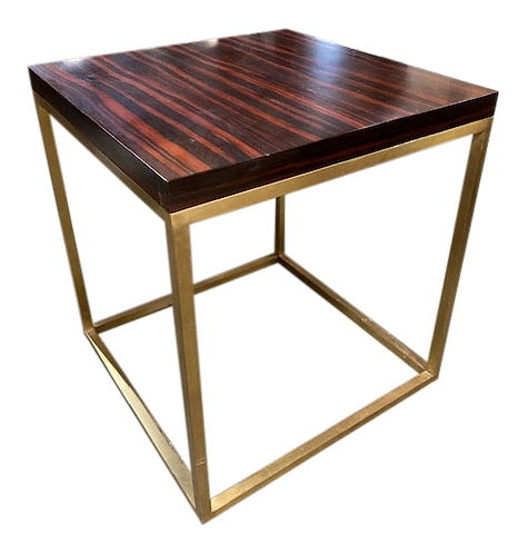 Todd Hase Duval Side Table in Macassar Ebony