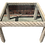 Thumbnail: Boho Chic Wicker Large Square Side Table