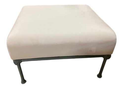 French Patio Coffee Table Ottoman