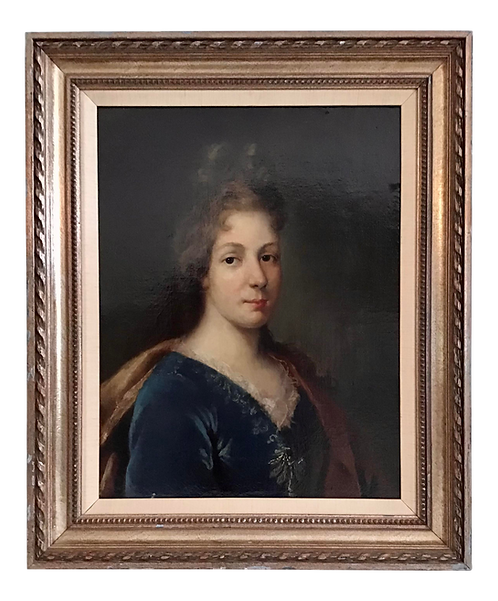French 18th Century Portrait of a Noblewoman